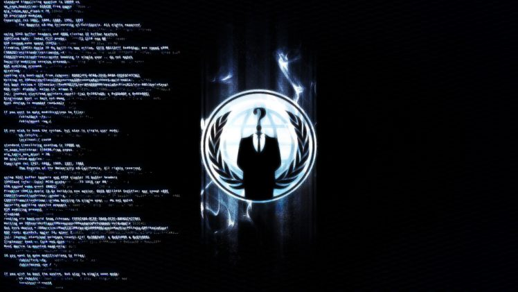 Hacking Anonymous HD Wallpaper Desktop Background