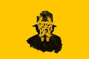 Watchmen, Rorschach, Yellow background
