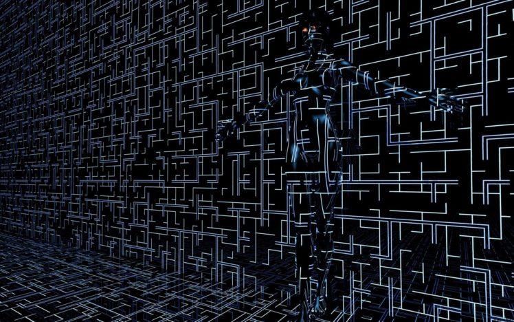 Digital Blasphemy, Cyberpunk HD Wallpaper Desktop Background