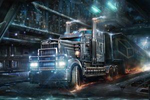 cyberpunk, Trucks