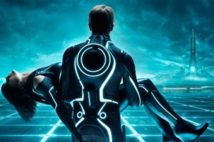 blue, White, Tron