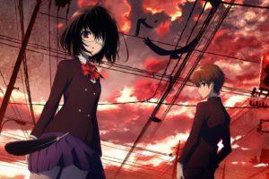 Another, Misaki Mei, Sakakibara Kouichi, Anime