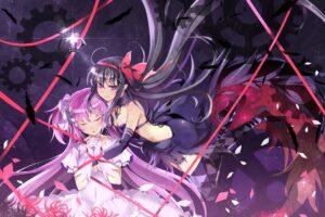 Akemi Homura, Mahou Shoujo Madoka Magica, Kaname Madoka, Anime, Anime girls