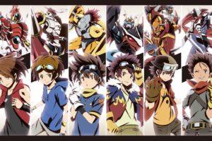 Digimon Adventure, Digimon, Digimon Frontier, Digimon Tamers, Digimon Savers