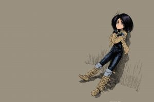 Alita, Cyborg, Battle Angel Alita, GUNNM, Gally, Short hair, Manga, Yukito Kishiro