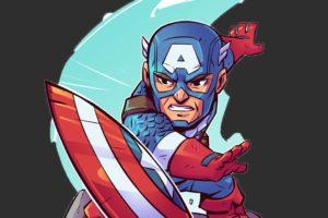 superhero, Marvel Comics, Captain America