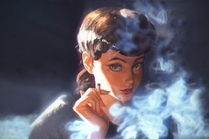 women, Ilya Kuvshinov, Blade Runner, Fantasy girl