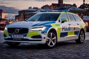Volvo V90, Volvo, Police cars, Sweden