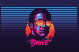 Ryan Gosling, Drive, Sunglasses, New Retro Wave