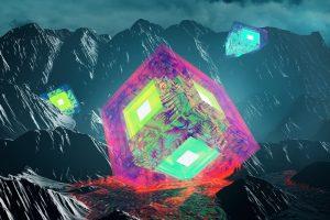 Cinema 4D, Photoshop, Render, 3D, Digital art, Abstract