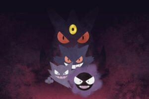 Gengar, Haunter, Pokémon, Gastly