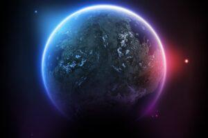 space, Planet, 3D, Space art, Digital art