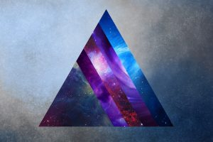 space, Prism, Triangle