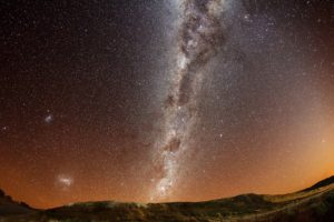 Milky Way, Space