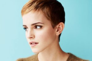 women, Emma Watson, Actress, Short hair