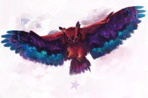 owl, Digital art