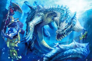 Monster Hunter, Lagiacrus, Kayamba, Cha cha