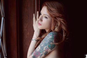 Suicide Girls, Redhead, Tattoo, Nude, Women, Mille Suicide