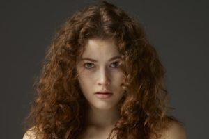 Hegre Art, Heidi, Women, Blonde, Freckles, Curly hair, Heidi romanova, Vanessa A