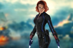 Scarlett Johansson, Redhead, Women, Black Widow, The Avengers, Avengers: Age of Ultron