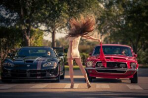 Dodge Viper, Shelby Cobra, Car, Women, Legs