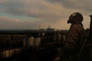gas masks, Chernobyl