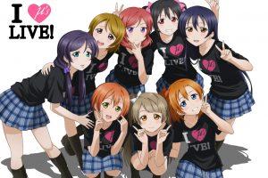 Love Live!, Anime girls, Yazawa Nico, Ayase Eli, Sonoda Umi, Nishikino Maki, Kousaka Honoka, Minami Kotori, Toujou Nozomi, Hoshizora Rin, Koizumi Hanayo