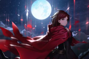 Moon, Anime girls, RWBY