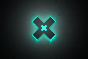 The XX, Minimalism, Glowing, Neon
